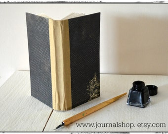 Handmade Journal , notebook , sketchbook  with 300 gsm mixed media paper