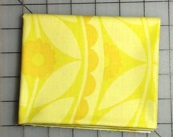 1 yard Jane Sassman - Sweet Lady Jane - Gone - Brocade - in Yellow -   PWJS053