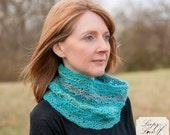 Karys Cowl Scarf Neck warmer Crochet Pattern Preteen Teen Adult Women