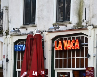 Urban Photography, Amsterdam Art, Urban Wall Art, Kitchen Decor, Street Art, Europe, Travel Print, Kitchen Art - Coffee Time