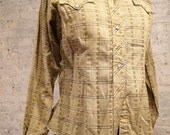 50s Collectible Western Ladies Shirt with Great Details