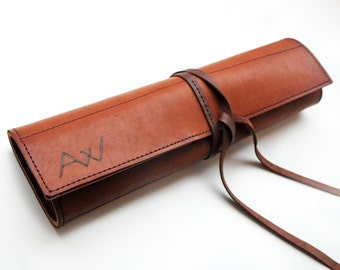 unique leather knife roll related items etsy. Black Bedroom Furniture Sets. Home Design Ideas