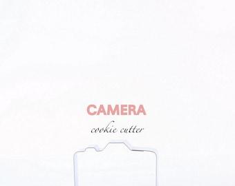 ORIGINAL Camera Cookie Cutter (Stainless Steel)- , Photography, Photos, Cookies, Sugar Cookies, Custom Cookie Cutters, Instagram