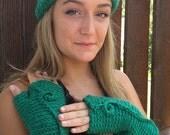 Emerald Green Headband . ...