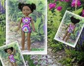WellieWishers Hearts Doll Leotards