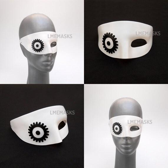 Alex DeLarge Leather Mask A Clockwork Orange Pirate Man White A Clockwork Orange Mask