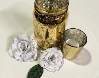 Paper Roses, Sheet Music Stemless Dozen