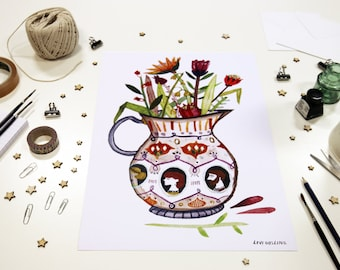 Vase Print