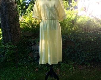 Buttercup garden dress