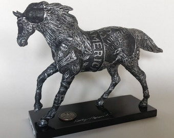 """Get your already owned 6"""" Trail of Painted Ponies Quarter Horse Custom Embellished & Signed by Official TOPP Artist"""