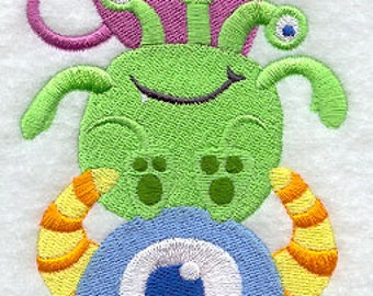 Mash of Monsters Stack - 100% Organic Cotton Pillow Cover - Your Choice of Size & Fabric Color