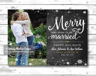 Items similar to Save the Date Christmas Ornament Snowflake ...