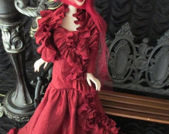 Ruffles and Roses for Evangeline Ghastly