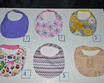 Dribble Bibs for Girls - 9 Variations