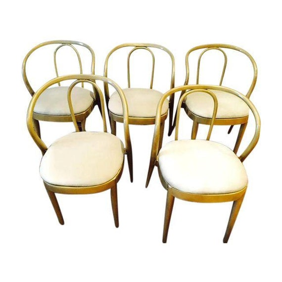 Vintage Bentwood Chair Set Thonet Style Dining Chair By Studio180