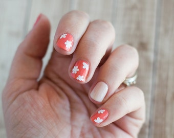 Flower Blossom  Nail Decals Stickers