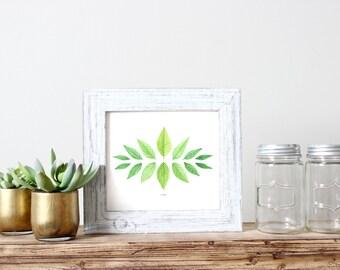 Leaves of Green Print