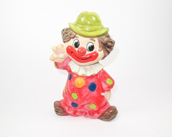 NAPCOWARE Groovy Peace Clown Bank
