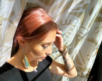The Zoey- Single Tassel Earring