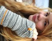 Crochet pattern # 53 - Fingerless gloves crochet pattern, mittens crochet. crochet pattern