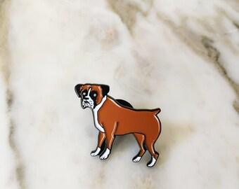 Boxer Lapel Pin