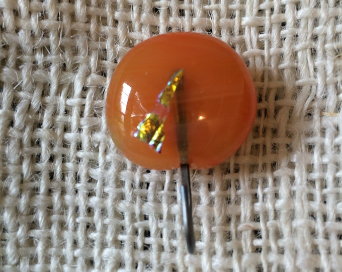 Knitting Pin - Magnetic Knitting Pin Fused Glass for Portuguese Knitting C
