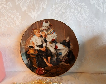 1985 Vintage Norman Rockwell's A Traveler's Pal  from Rockwell's Gentle Memories Series