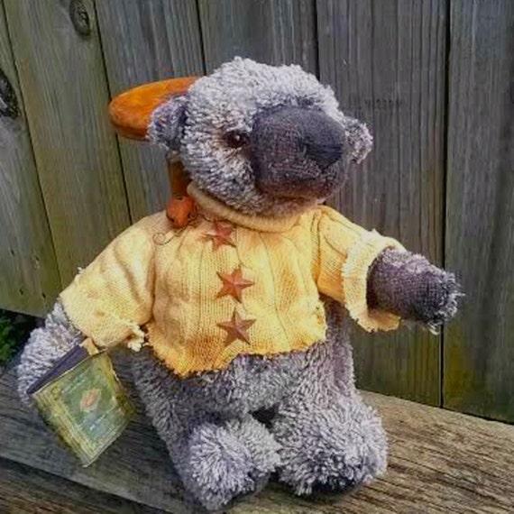 Stuffed Teddy Bear-Handmade Bear-Jointed Teddy Bear