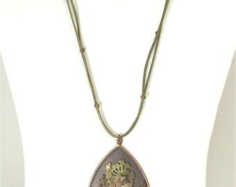 Metal Garden Necklace