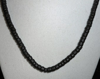 Vintage Heishi Bead Necklace (B 535)