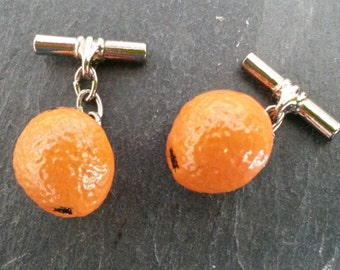 Vintage 'Orange' cufflinks