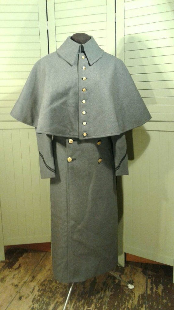 1940 S Capelet Military Wool Coat West Point Army Cadet
