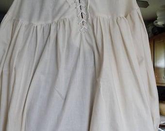 Laced Cotton Pirate Shirt