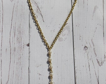 Pearl Drop Necklace