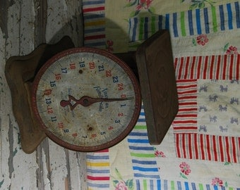 American Family Scales - Green Rusted - Kitchen Scales - Baby Scales