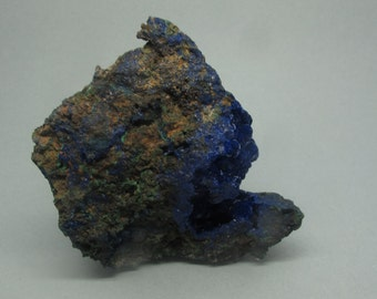 Azurite with Malachite | Liufengshanm Anhui Procince, China