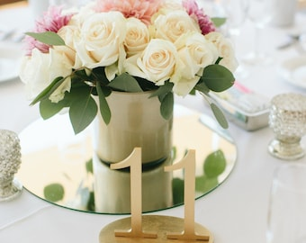 Wedding table numbers, Plain wood, Wooden Table Numbers, Wedding Table Decor, Table Numbers, Wedding centerpieces