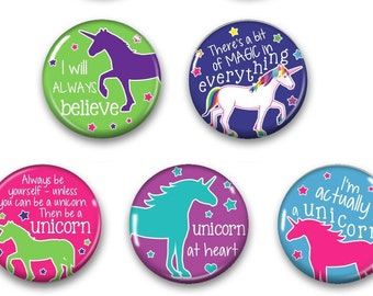 Unicorn Magnets - Unicorn Decor - Unicorn Decor Magnet - Fridge Magnet - Fridge Magnets - Unicorn Gift - Unicorn Magnet -