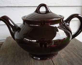 Redware Tea Pot