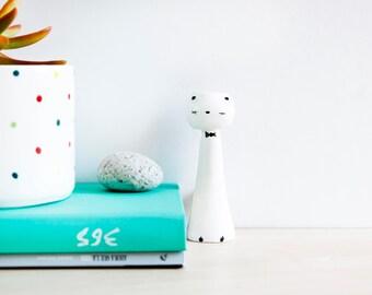 Ceramic cat miniature, Ceramics & pottery, Pottery cat, Cat figurine, Cat totem, Noe Marin ceramic, Cats miniatures, Ceramic Cats, ceramics