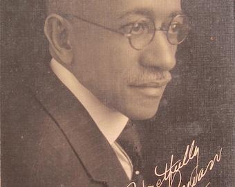 Original 1930 Levi John Rowan LJ Rowan Black African American Alcorn University Mississippi Photo By Beadle - Free Shipping