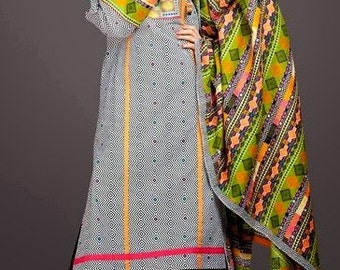 Pakistani shalwar kameez Original kayseria suit 3 pc stitched with embroidery winter collection v cheap dress