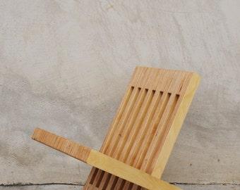 Handmade Birch Magazine / Book Stand