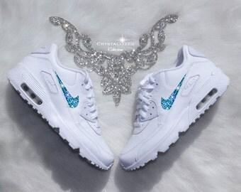 Nike Air Max Bianche Con Brillantini