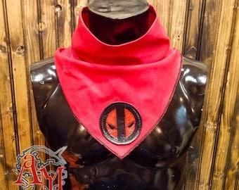 Deadpool geek Scarf red