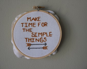 make time for simple things