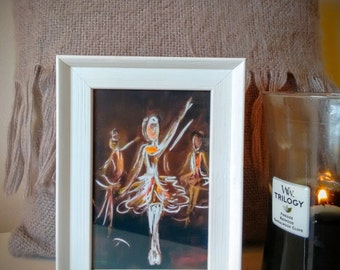 Shine Dancer, framed print
