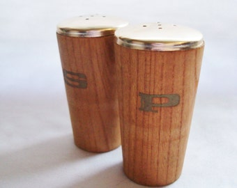 Mid-Century Modern Salt & Pepper Shakers