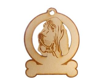 Bloodhound Ornament - Bloodhound Gift - Bloodhound Ornaments - Bloodhound Gifts - Bloodhound Memorial - Personalized Free