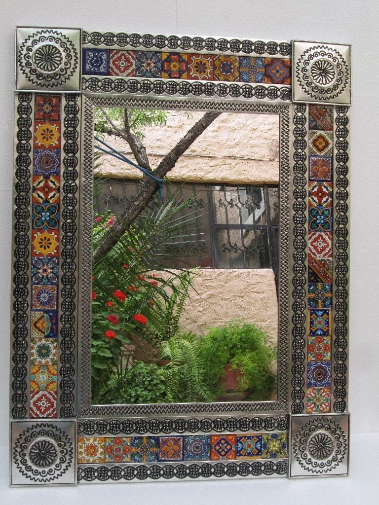 Talavera Tile Mirrors Collection - Talavera Tile Mirrorw ... |Talavera Mirror